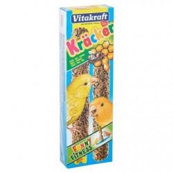 Vitakraft 2 x Crackers au miel pour canaris 60 g
