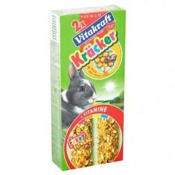 Vitakraft 2 x Crackers au miel pour lapin 112 g