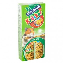 Vitakraft 2 x Crackers aux fruits pour hamsters 112 g