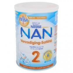 NAN® Satiété 2 Lait de Suite Bébé dès 6 Mois 800 g