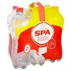 SPA INTENSE eau minérale gazeuse 6 x 1L