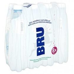 BRU eau légèrement pétillante  8 x 50 cl
