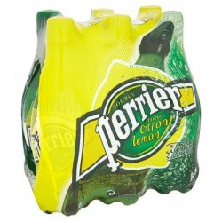 PERRIER eau gazeuse citron  6 x 50 cl