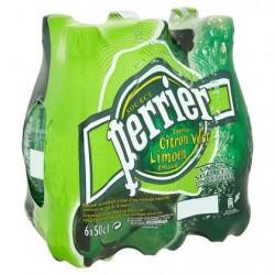 PERRIER eau gazeuse au citron vert  6 x 50 cl