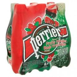 PERRIER eau petillante fraises pet  6 x 50cl