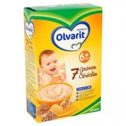 Olvarit 7 Céréales 6+ Mois 200 g