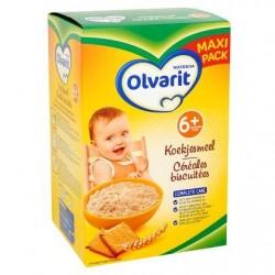 Olvarit Céréales Biscuitées 6+ Mois Maxi Pack 2 x 300 g