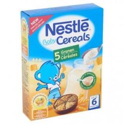 Nestlé® Baby Cereals 5 Céréales 6 Mois 250 g