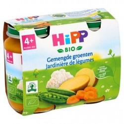 HiPP Bio Jardinière de Légumes 4+ Mois 2 x 190 g