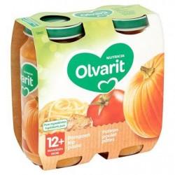 Olvarit Potiron Poulet Pâtes 12+ Mois 2 x 250 g