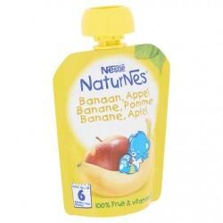 Nestlé® NaturNes® Gourde Pomme Banane Bébé 6 Mois 90 g