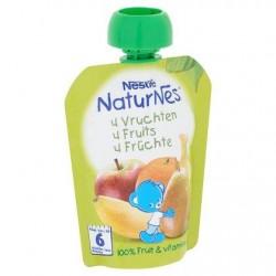 Nestlé® NaturNes® Gourde 4 Fruits Bébé 6 Mois 90 g