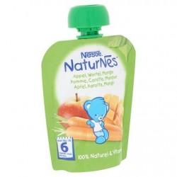Nestlé® NaturNes® Gourde Pomme Mangue Carotte Bébé 6 Mois 90 g