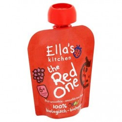 Ella's Kitchen The Red One Smoothie aux Fruits 6+ Mois 90 g