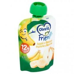 Olvarit Friends Pomme & Banane 12+ Mois 90 g