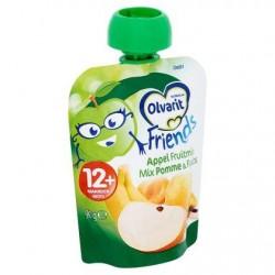 Olvarit Friends Mix Pommes & Fruits 12+ Mois 90 g