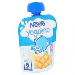 Nestlé® Yogolino® Gourde Banane Mangue Bébé 6 Mois 90 g