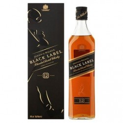 Johnnie Walker Black Label Blended Scotch Whisky 70 cl
