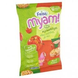 Friso Myam Bio Mini Galettes de Riz Pomme (Pas avant 8M) 50 g