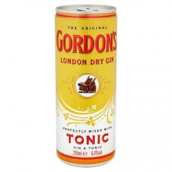 Gordon's London Dry Gin Tonic 250 ml