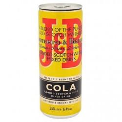 J&B Rare Cola Mixed Drink 250 ml