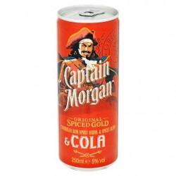Captain Morgan Caribbean Rum & Cola 250 ml