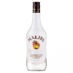 Malibu Caribbean Rum with Coconut Flavour 700 ml