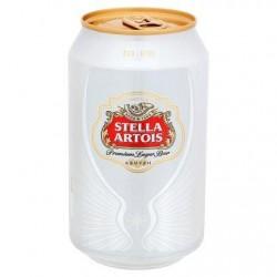 Stella Artois Premium Lager Beer Canette 33 cl