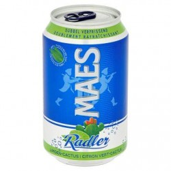 Maes Radler Citron Vert-Cactus Canette 33 cl