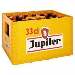 Jupiler Bière Blonde Caisse 24 x 33 cl