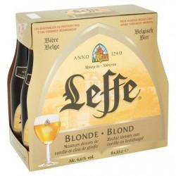 Leffe Blonde Bouteilles 8 x 33 cl