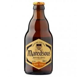 Maredsous Bière Belge d'Abbaye Blonde 6° Bouteille 330 ml