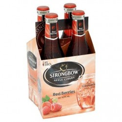 Strongbow Red Berries Bouteille 4 x 33 cl