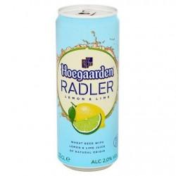 Hoegaarden Radler Limon & Lime Canette 33 cl