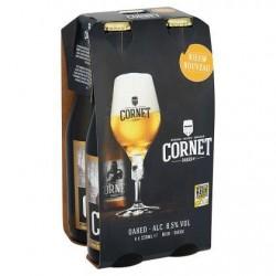 Cornet Oaked Strong Blond Belgian Bière Bouteilles 4 x 330 ml