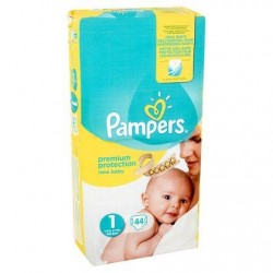 Pampers New Baby Taille 1 (Nouveau-né) 2-5 kg 44 Langes