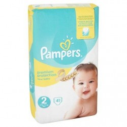 Pampers New Baby Taille 2 (Mini) 3-6 kg 41 Langes