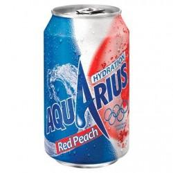 Aquarius Red Peach + Vit B6 330 ml
