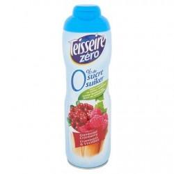 Teisseire Zéro Framboise Cranberry 60 cl