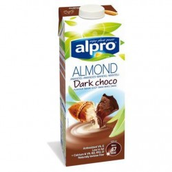 ALPRO boiss. amande dark choco brique  1L *Belgique *Végétal