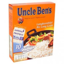 Uncle Ben's Riz Long Grain 4 x 125 g