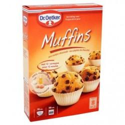 Dr. Oetker Préparation pour muffins aux pépites de chocolat 370 g