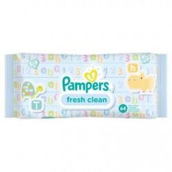 Pampers Fresh Clean 1 Paquet de 64 lingettes