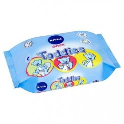 Nivea Baby toddies 60 lingettes
