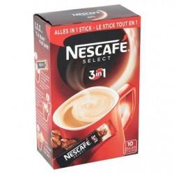Café NESCAFÉ Select Stick 3 in 1 10 x 17,5 g