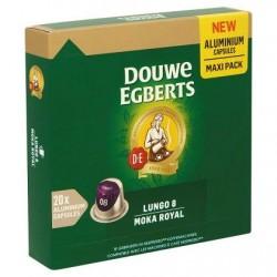 Douwe Egberts Lungo 8 Moka Royal Maxi Pack 20 Aluminium Capsules 104 g
