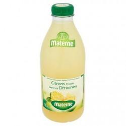 MATERNE citrons fraîchement pressés  1L *Jus de citron *30 % de fruits *Sans pulpe