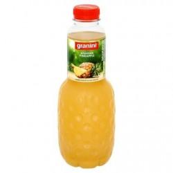 GRANINI nectar d'ananas  1L *Jus d'ananas *À base de concentré *50 % de fruits *Avec pulpe
