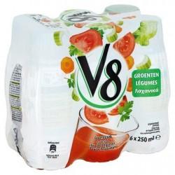 V8 Cocktail de Jus de Légumes 6 x 250 ml