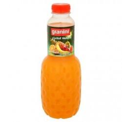GRANINI jus multifruits (PET)  1L *Multifruit *À base de concentré *50 % de fruits *Avec pulpe